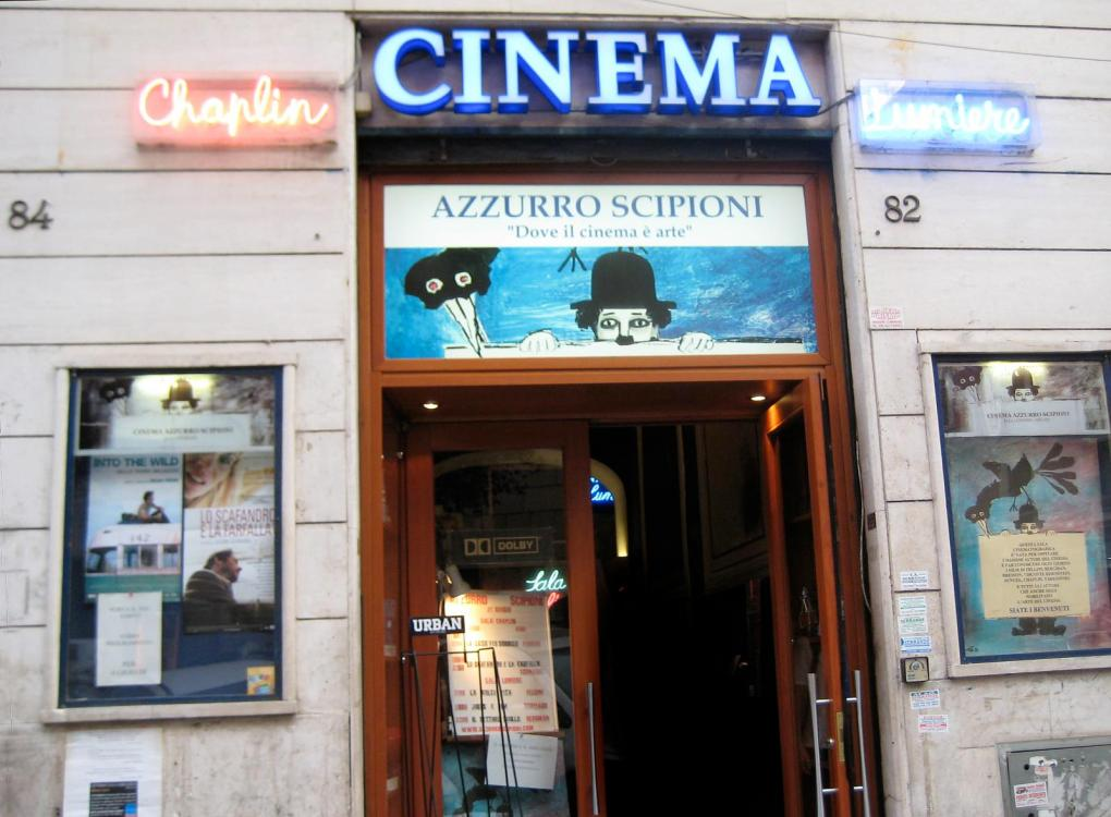 Cinema Azzurro Scipioni, one of the Best Arthouse/Independent Cinemas in Rome, Italy