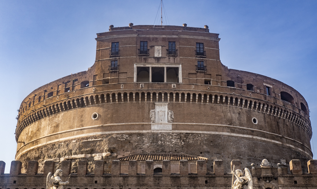 Castel Sant'Angelo, an Angels and Demons filming location in Rome and Vatican City