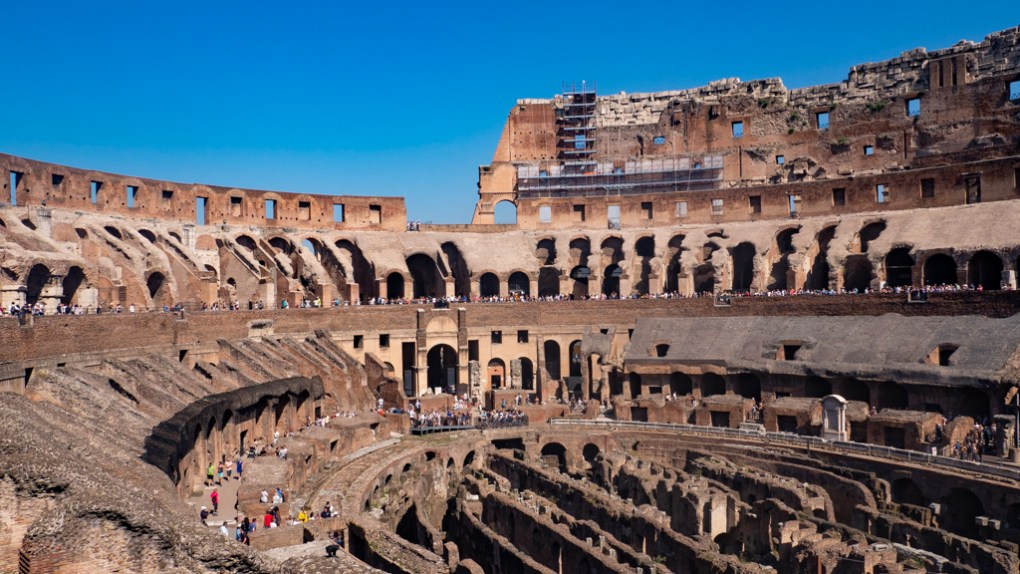 Colosseum in Rome, a Roman Holiday Filming Location