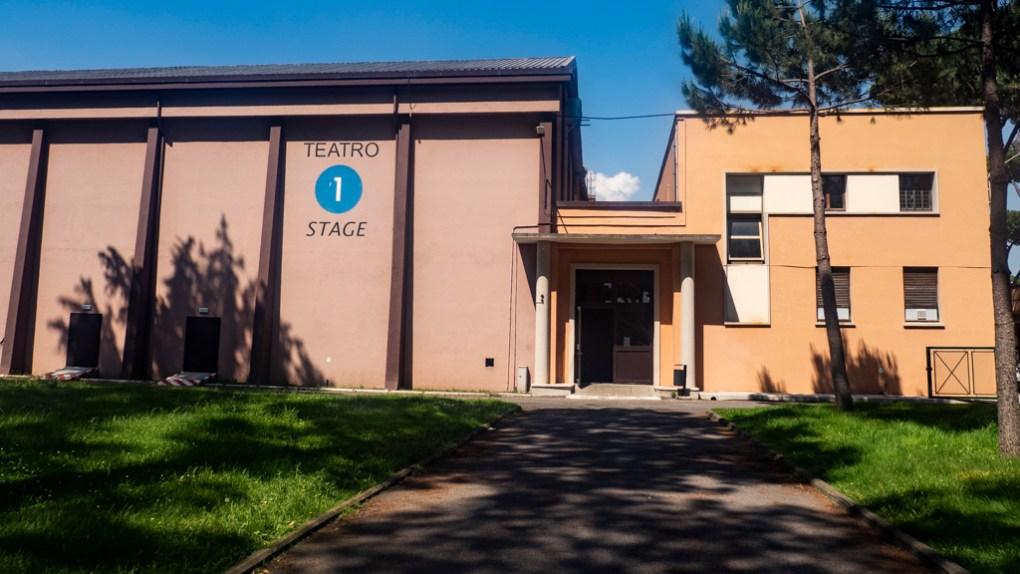 Cinecitta Studios in Rome, Italy