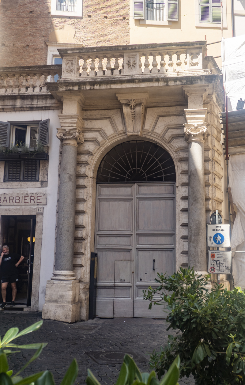 Elizabeth Gilbert's apartment from Eat Pray Love in Rome, one of the top things to do in Rome for film lovers