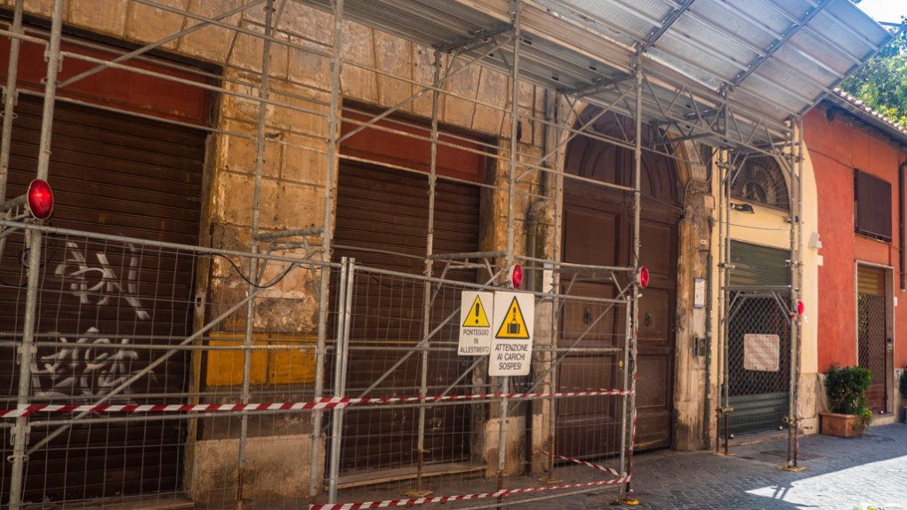 Via Margutta, 51 in Rome, a Roman Holiday Filming Location