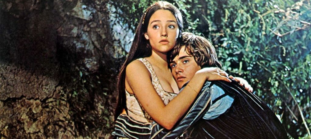 Romeo and Juliet, one of the top films set in Italy