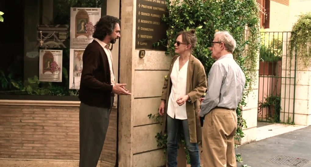 Giancarlo meets Jerry and Phyllis at his home in To Rome with Love (2012)
