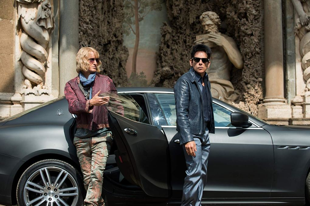Still from Zoolander 2, a Hollywood film location in Rome, Italy