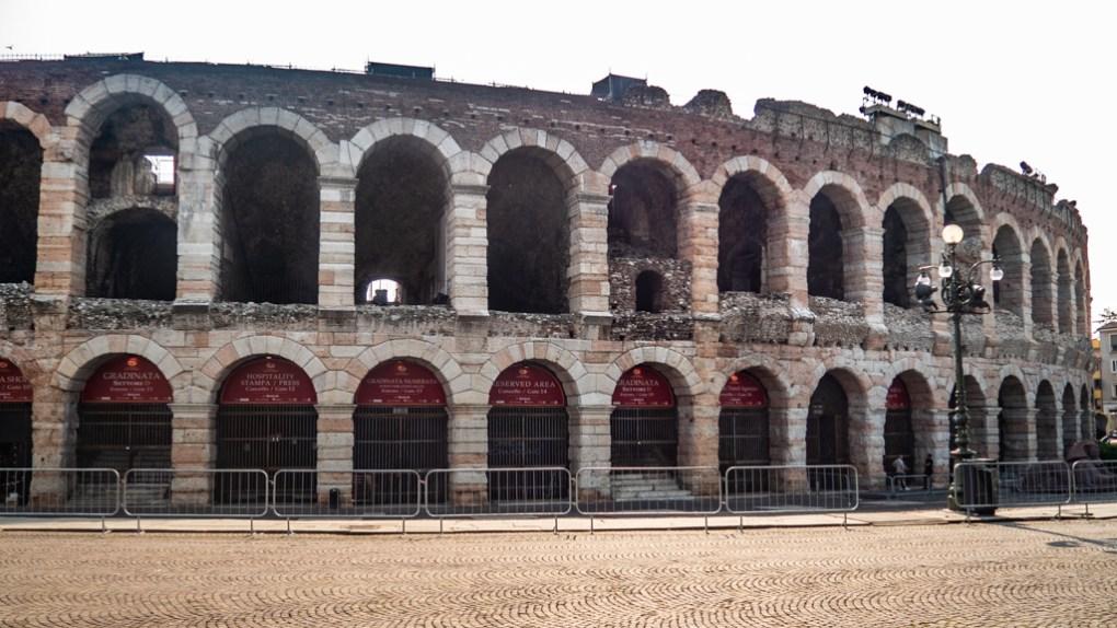 Verona Arena in Verona, Italy, 24 hours in Verona