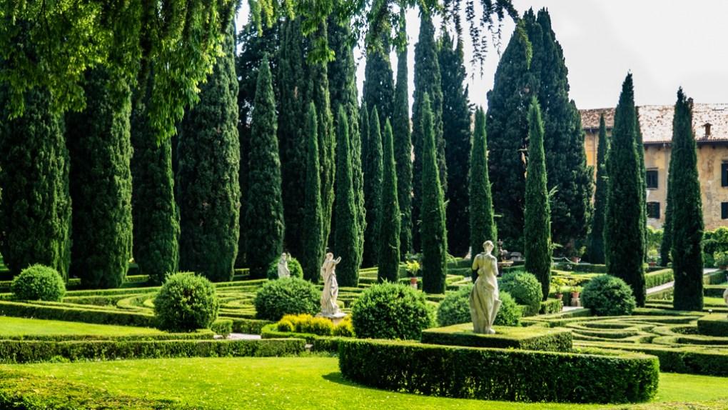 Giardino Giusti in Verona, Italy, 24 hours in Verona