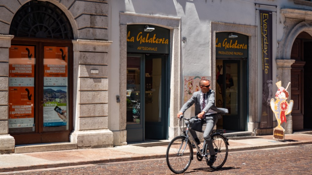 La Gelateria in Trento, Italy