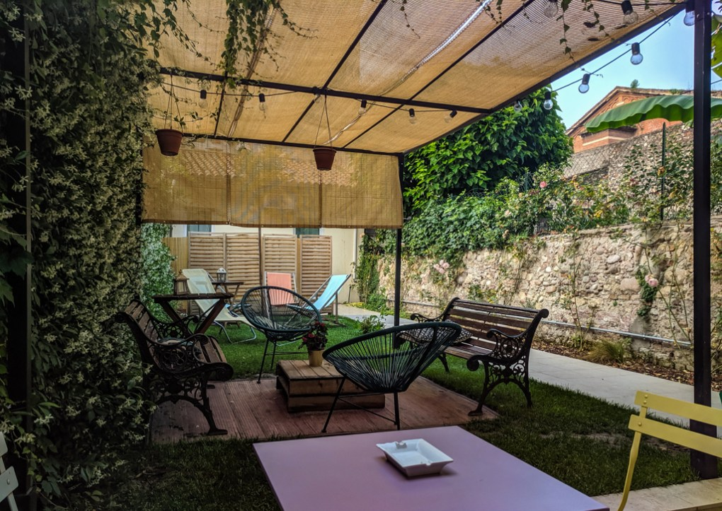 The Hostello Garden, a hostel in Verona, Italy
