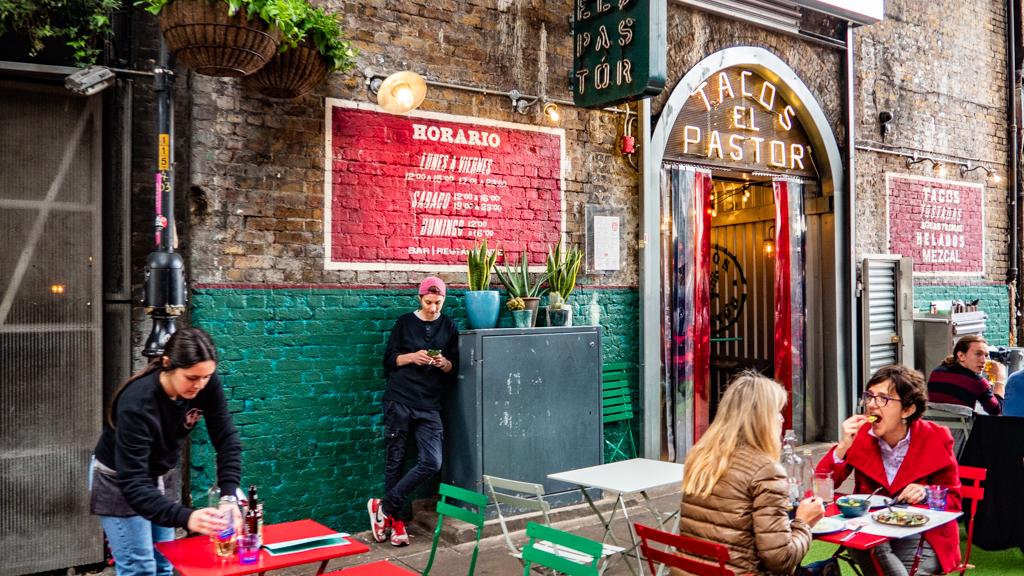 El Pastor Mexican Restaurant in Borough Market, London