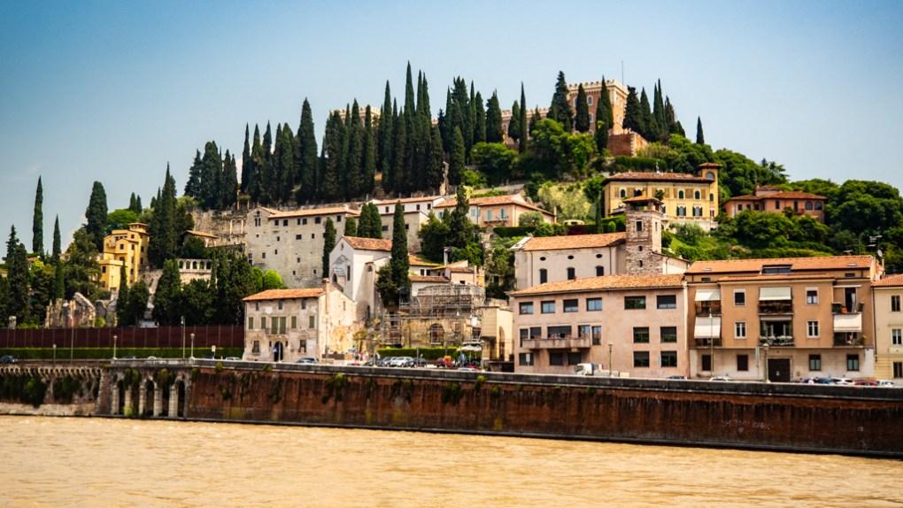 Castel San Pietro in Verona, Italy, 24 hours in Verona