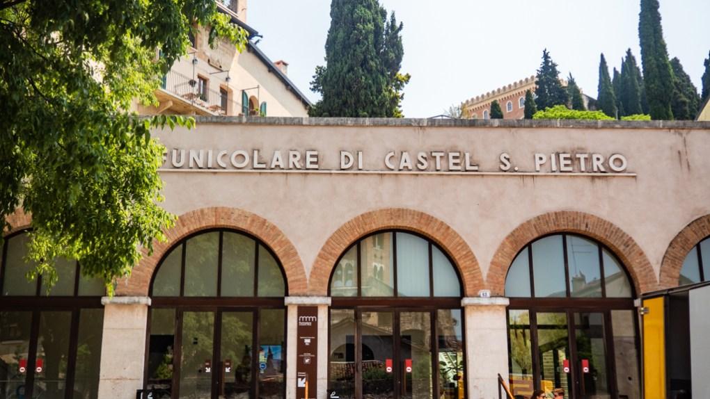 Castel San Pietro Funicular in Verona, Italy, 24 hours in Verona