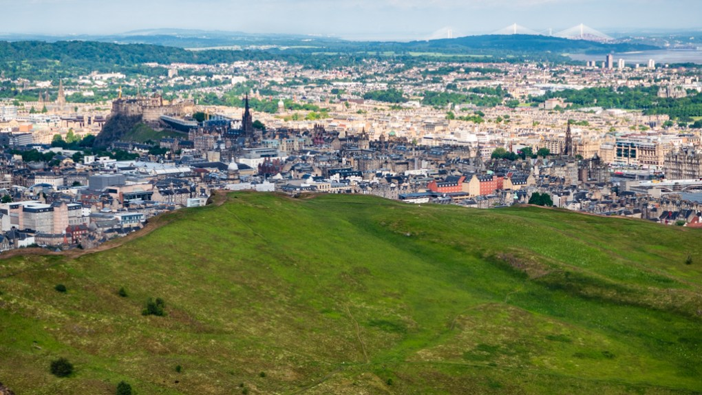 Arthur's Seat in Edinburgh, UK which is a One Day Filming Location