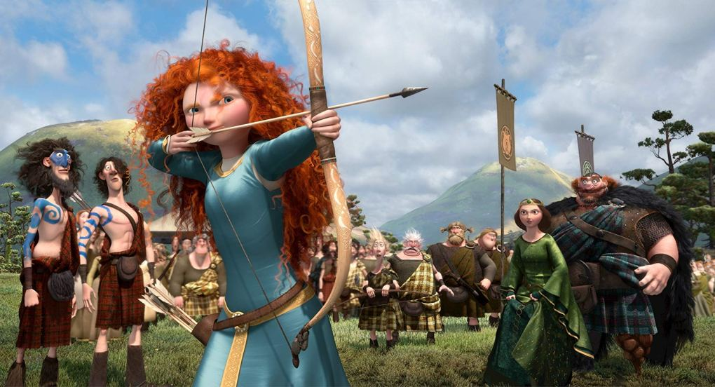 Brave, one of the best films set in Scotland