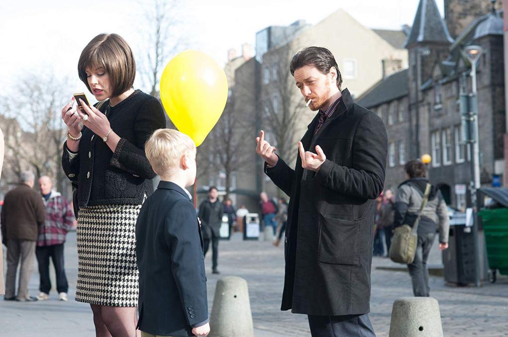 Filth, one of the top films set in Edinburgh