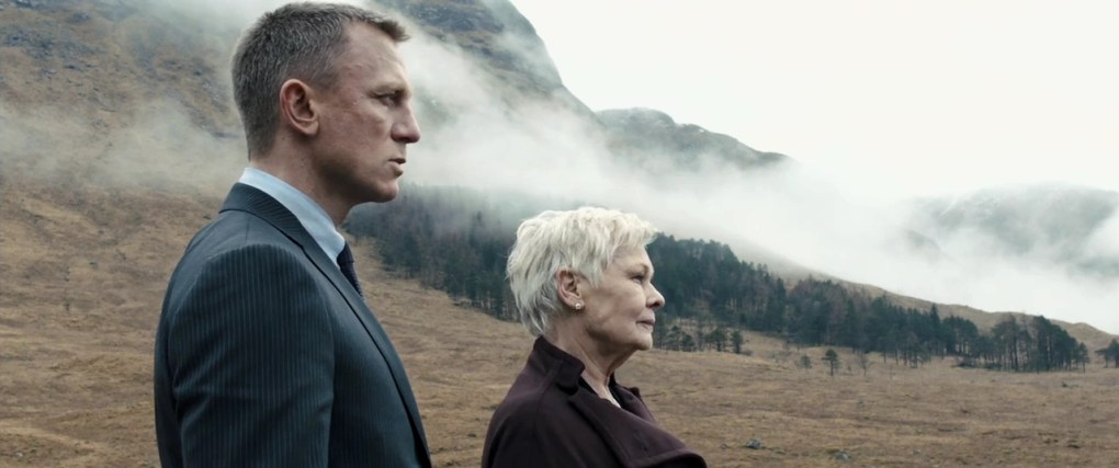 Skyfall, one of the best films set in Scotland