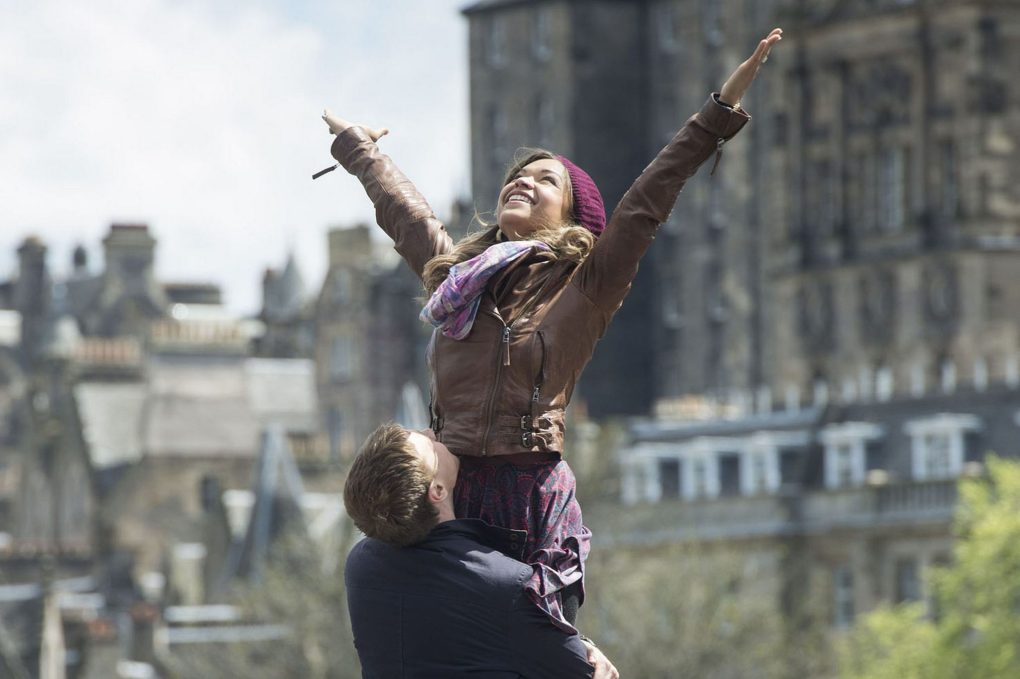 Sunshine on Leith, one of the top films set in Edinburgh