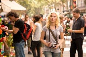 Cristina walking down Las Ramblas in Barcelona as seen in Vicky Cristina Barcelona (2008)
