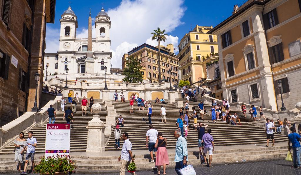 Spanish Steps in Rome, Italy