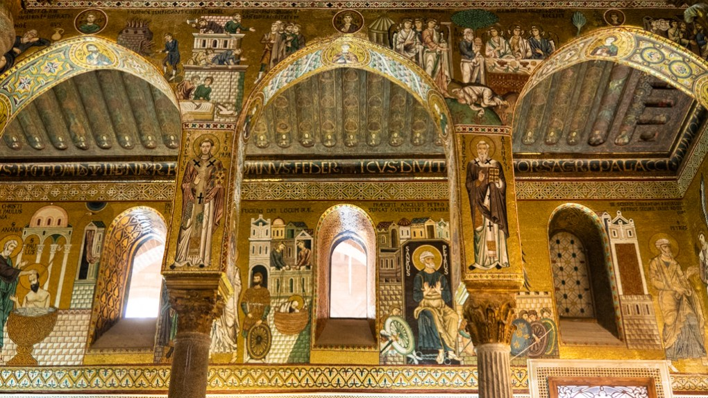 Inside Palatine Chapel in the Norman Palace in Palermo, Sicily | 48 Hours in Palermo, Sicily Travel Guide