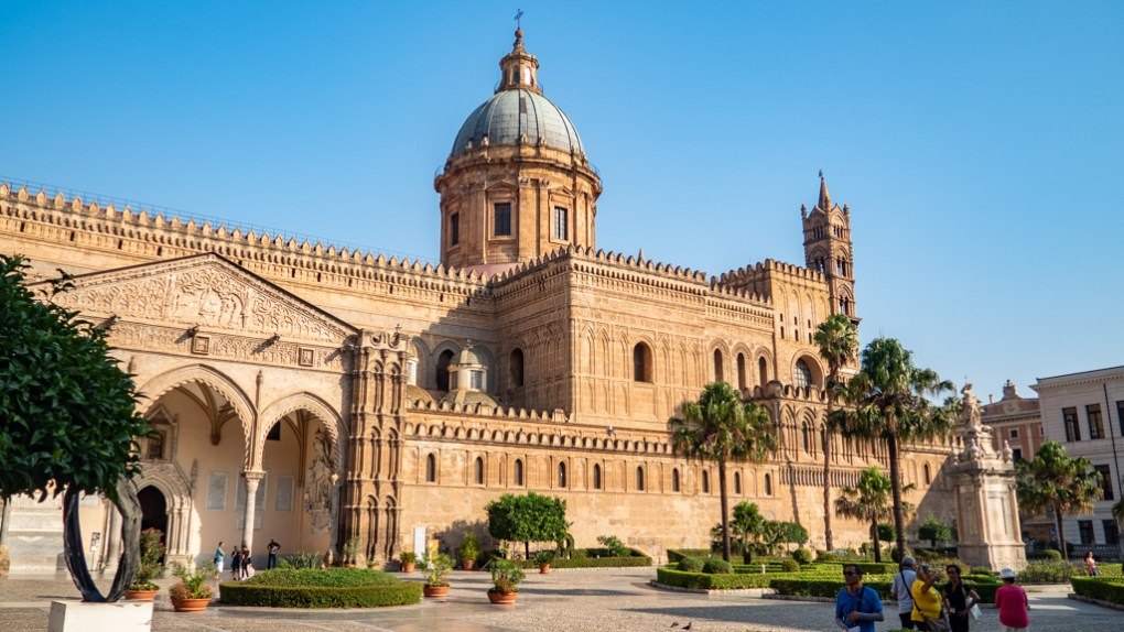 Palermo Cathedral in Palermo, Sicily | 48 Hours in Palermo, Sicily Travel Guide