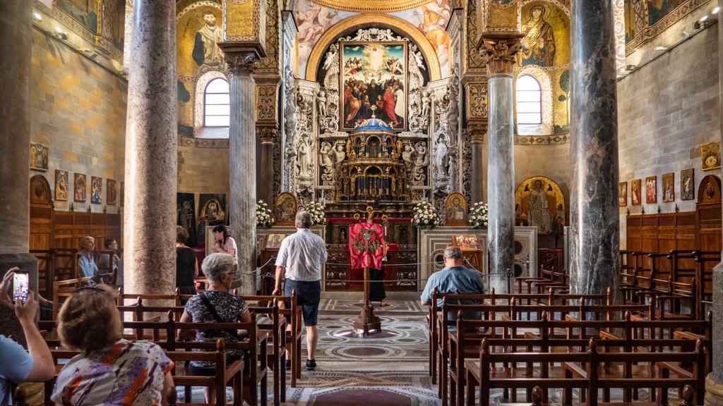 Santa Maria dell'Ammiraglio in Palermo, Sicily