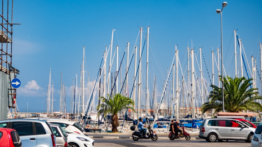 Port in Palermo, Sicily | 48 Hours in Palermo, Sicily Travel Guide