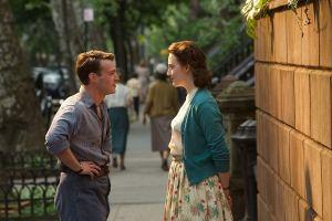 Tony and Eilis in Brooklyn