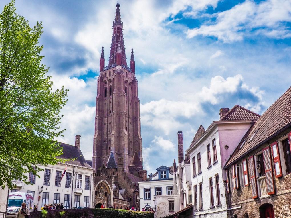 Church of Our Lady Bruges in Bruges, Belgium