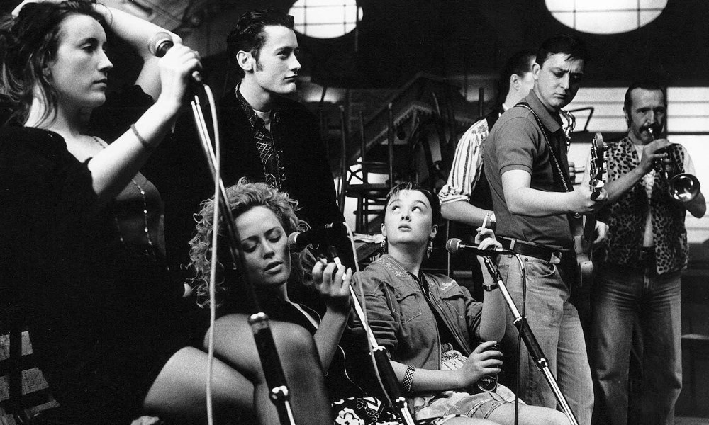 Film still from The Commitments, a film set in Dublin, Ireland