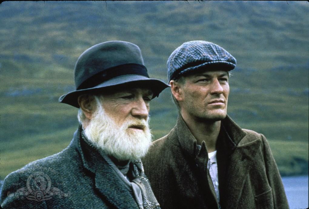 Film still from The Field, a film set in Ireland