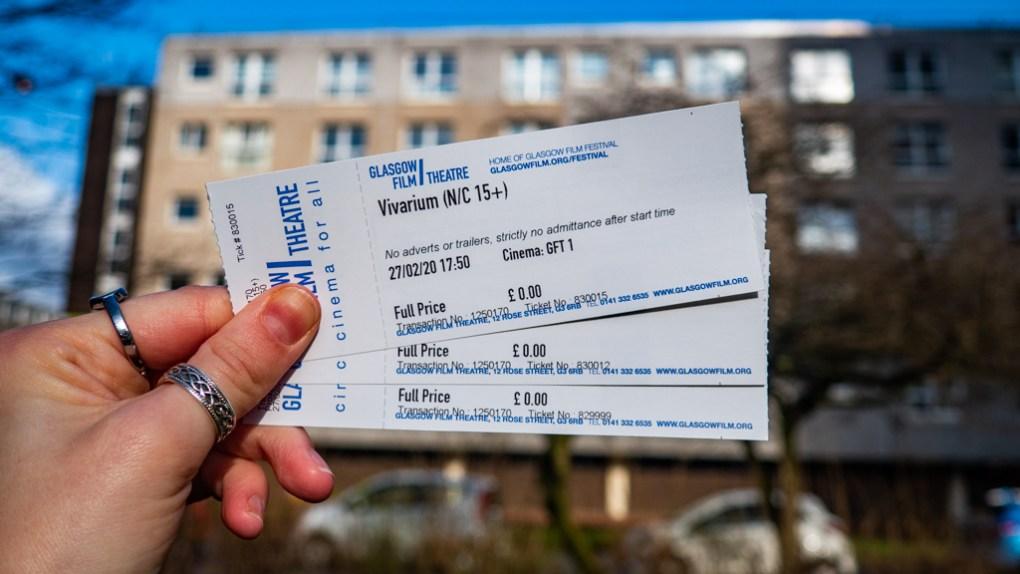 Press tickets for Vivarium, Proxima and The Juniper Tree at Glasgow Film Festival 2020 in Glasgow, Scotand