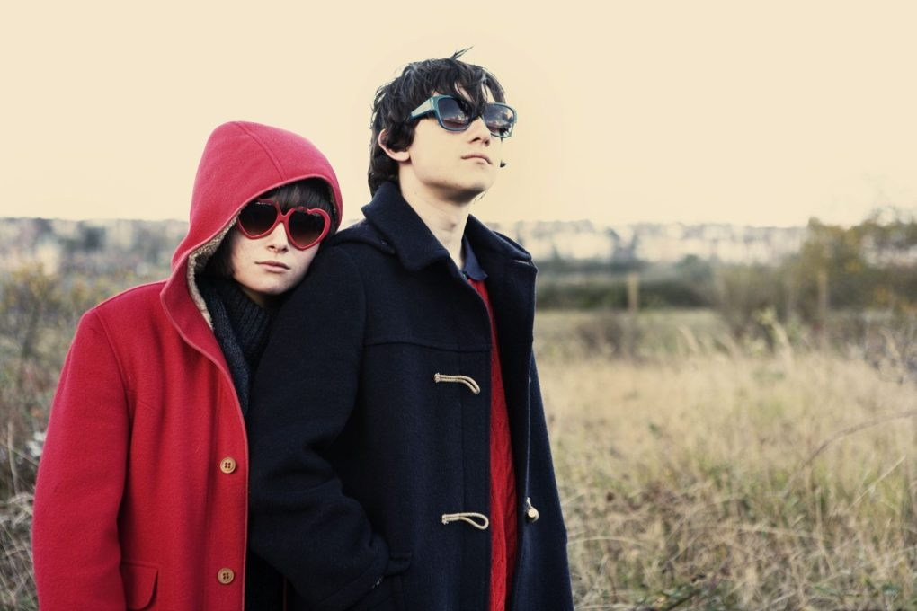 Film still from Submarine, a film set in Wales, UK