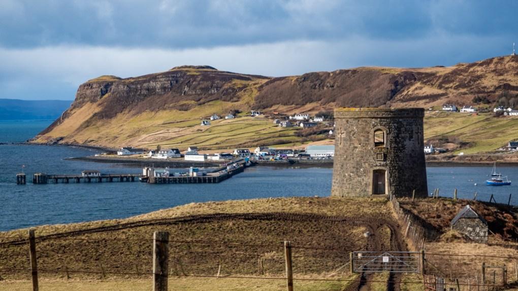 Uig on the Isle of Skye, Scotland