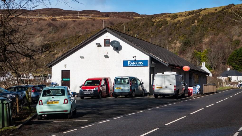 Rankins shop in Uig on the Isle of Skye, Scotland