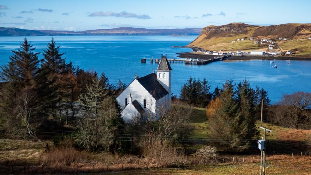 Uig in the Isle of Skye, Scotland