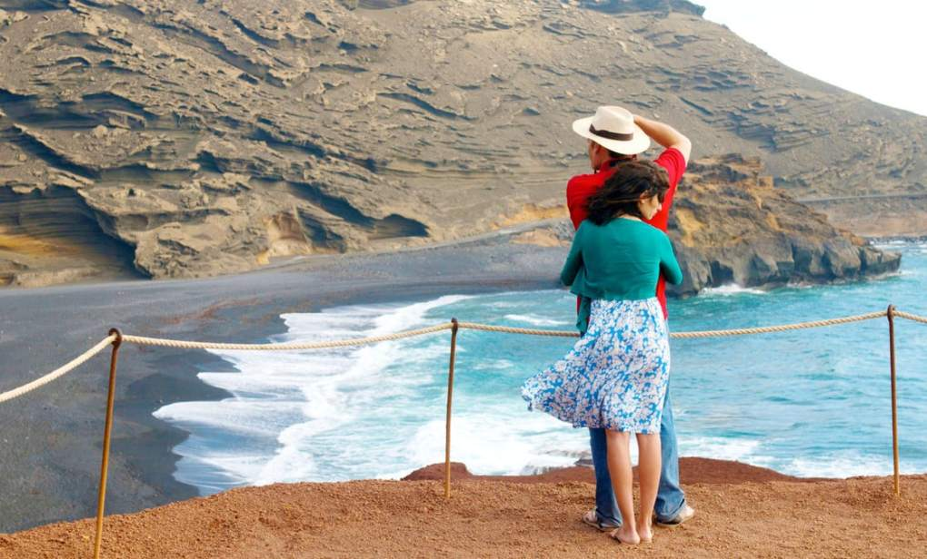 Film still from Broken Embraces, a film set in Spain