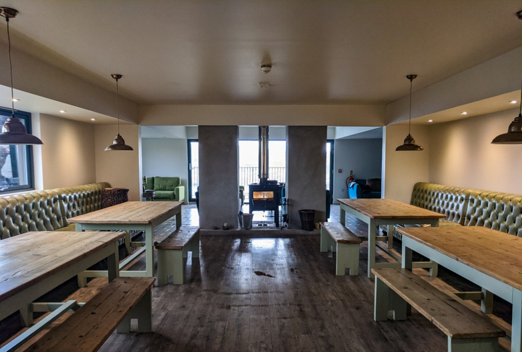 Inside The Cowshed Bunkhouse Hostel in Uig on the Isle of Skye, Scotland