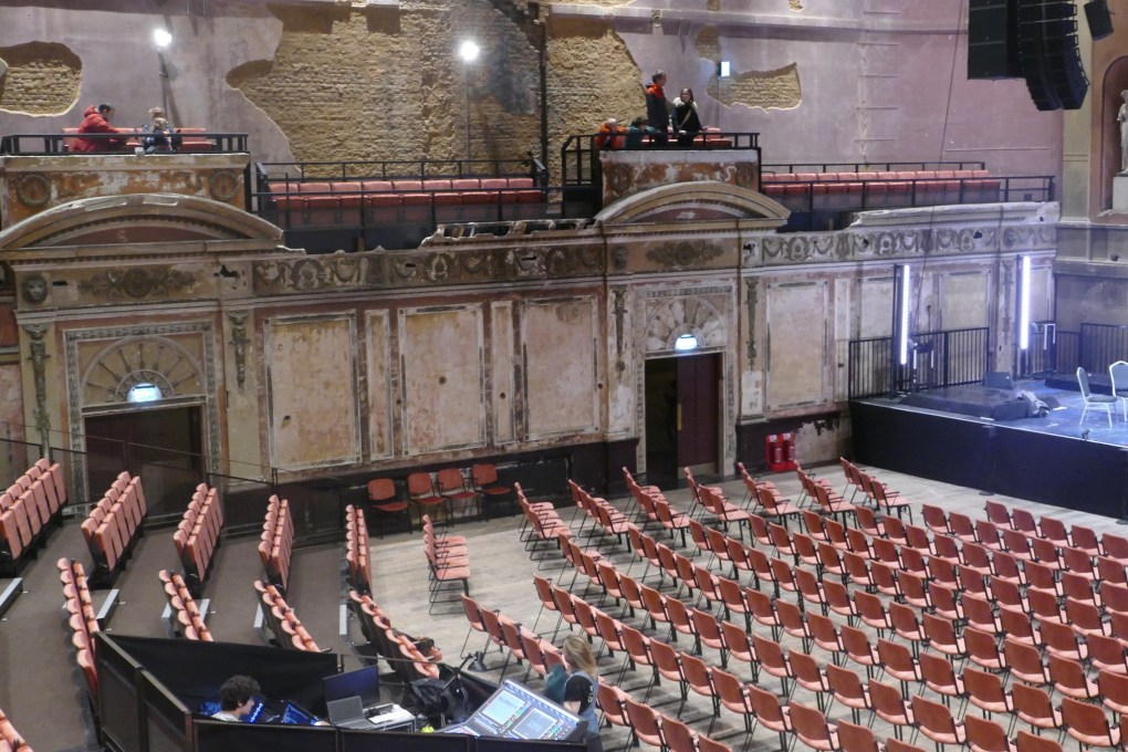 Alexandra Palace Theatre in London, UK Spider-Man: Far From Home Location