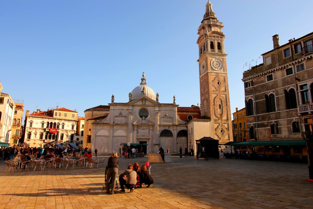 Santa Maria Formosa Church and Bell Tower in Venice, Italy