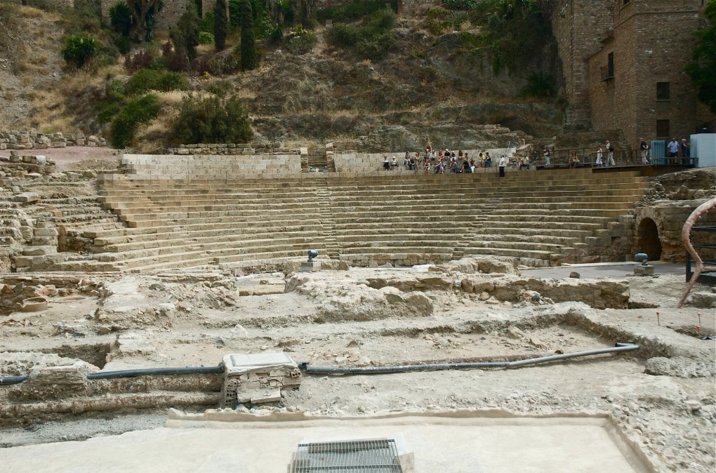 Roma Theatre in Málaga, Spain