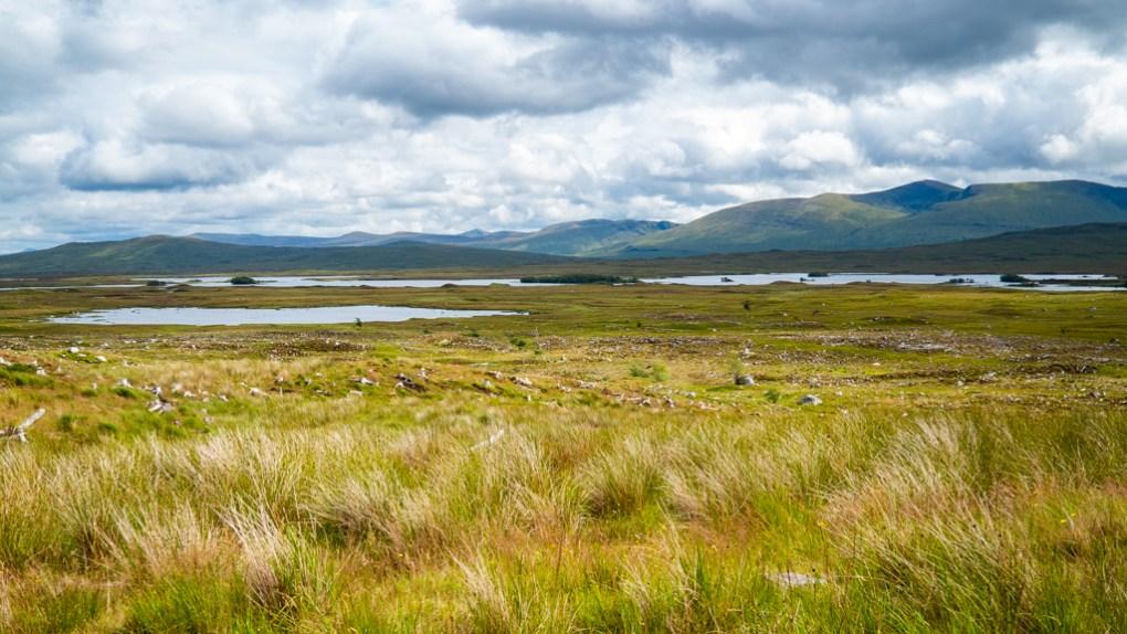 Rannoch Moor in Scotland, a Harry Potter Filming Location in Scotland