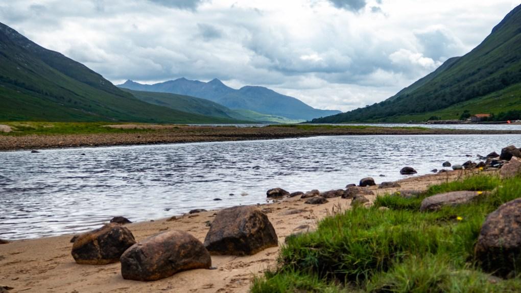 Loch Etive in Glen Etive, a Harry Potter Filming Location in Scotland