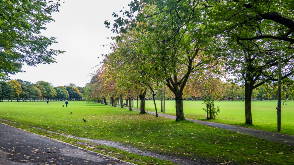 The Meadows in Edinburgh, Scotland