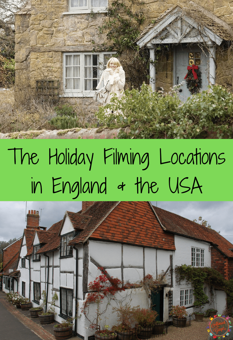 The Holiday Filming Locations in England & USA   almostginger.com