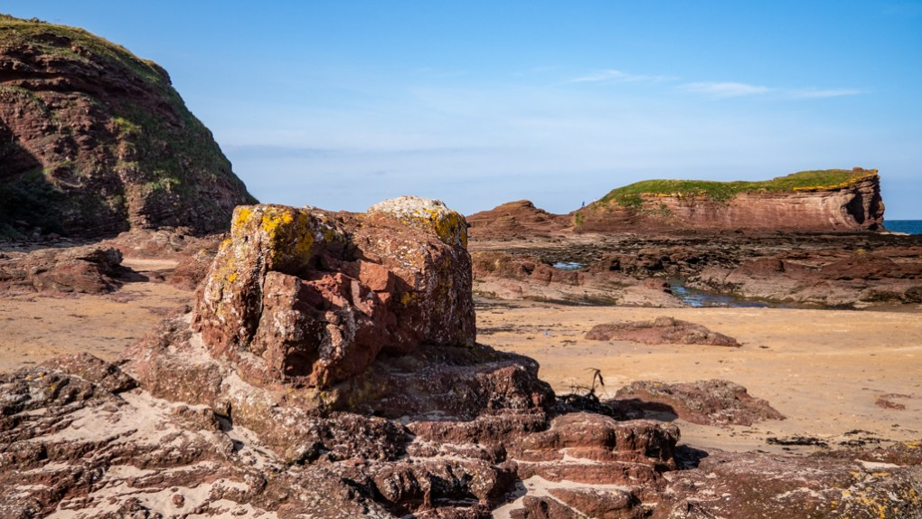 Seacliff Beach in North Berwick, Scotland Outlaw King Filming Location