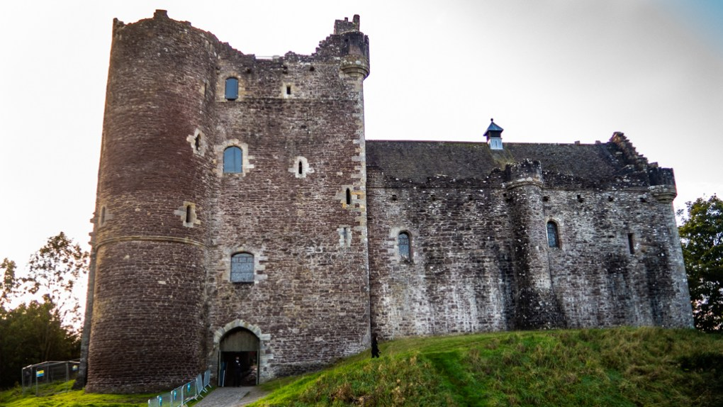Famous Movie Location Doune Castle in Scotland
