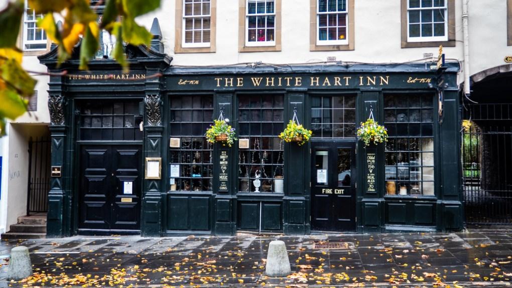 The White Hart Inn on Grassmarket in Edinburgh, Scotland Eurovision Song Contest: The Story of Fire Saga Filming Location