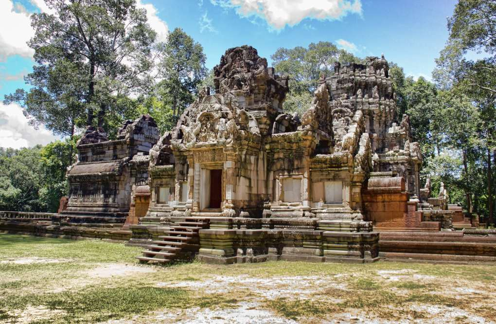 Best Filming Location Angkor Thom in Cambodia
