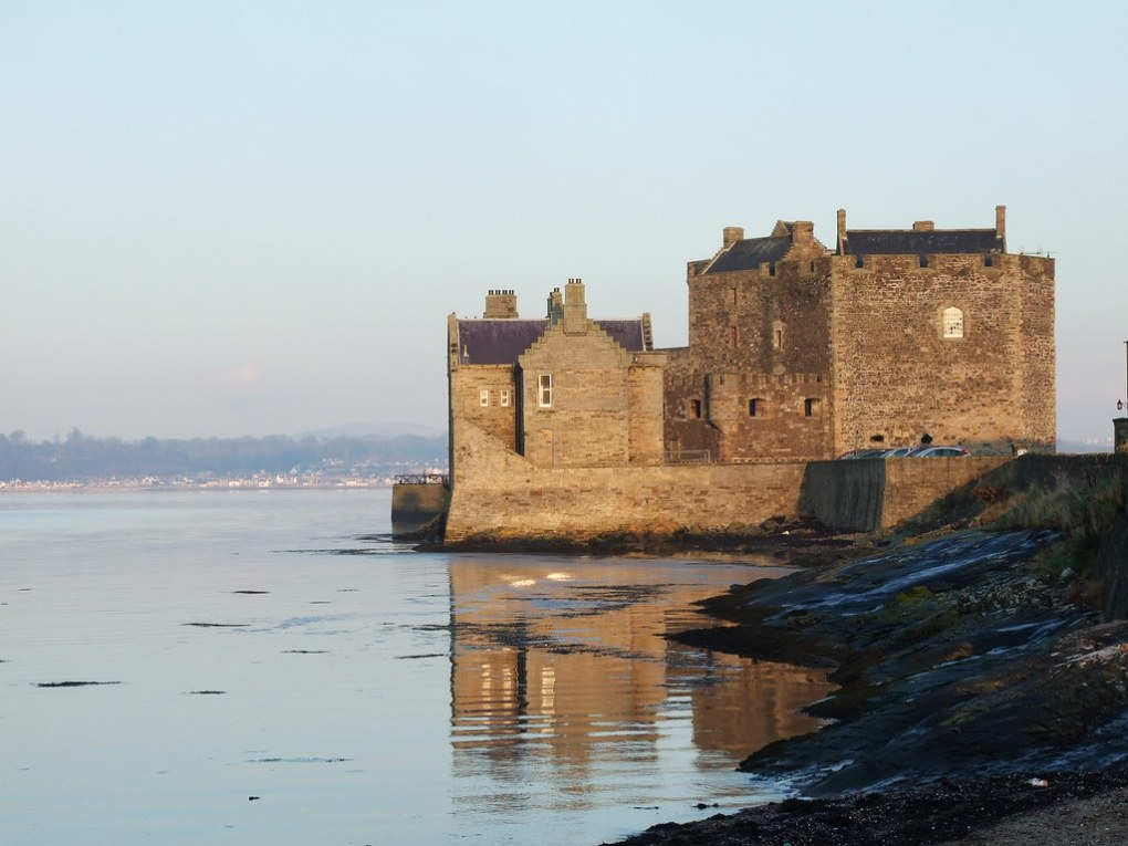 Blackness Castle, Scotland Outlaw King Filming Location